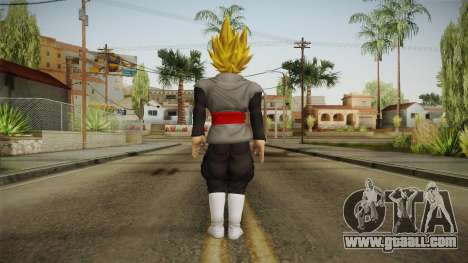 DBX2 - Goku Black SSJ v2 for GTA San Andreas third screenshot