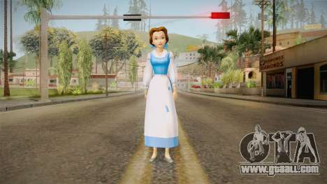 Beauty and the Beast - Belle for GTA San Andreas second screenshot