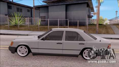 Mercedes Benz E200 W124 Stance for GTA San Andreas left view