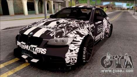 BMW M3 E92 2B of NieR: LB Performance for GTA San Andreas