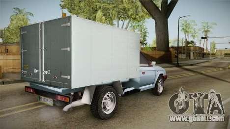 Skoda Favorit Truck D. for GTA San Andreas left view