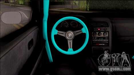 Nissan Skyline R33 Rocket Bunny v2 for GTA San Andreas inner view