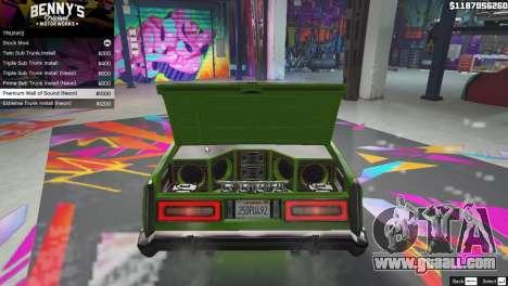 GTA 5 New Bennys Original Motor Works in SP 1.5.4 fourth screenshot