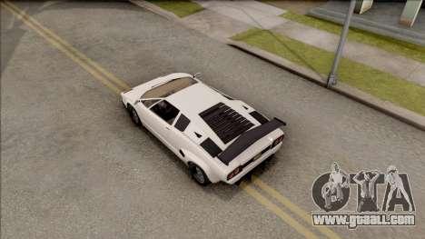 GTA V Pegassi Torero for GTA San Andreas back view