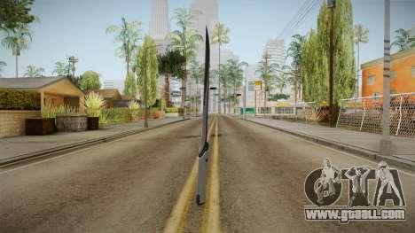 Mass Effect: Andromeda - Asari Sword Black for GTA San Andreas second screenshot
