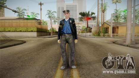 Driver PL Police Officer v5 for GTA San Andreas second screenshot