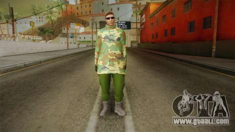 Gunrunning Skin 2 for GTA San Andreas second screenshot
