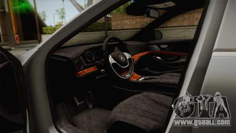 Mercedes-Maybach S600 X222 for GTA San Andreas