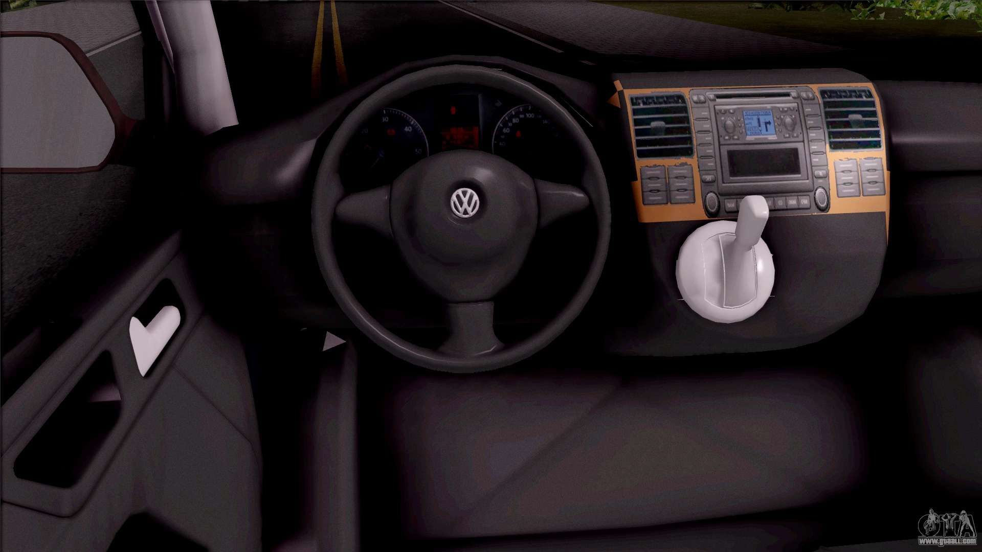 volkswagen transporter spanish police for gta san andreas. Black Bedroom Furniture Sets. Home Design Ideas