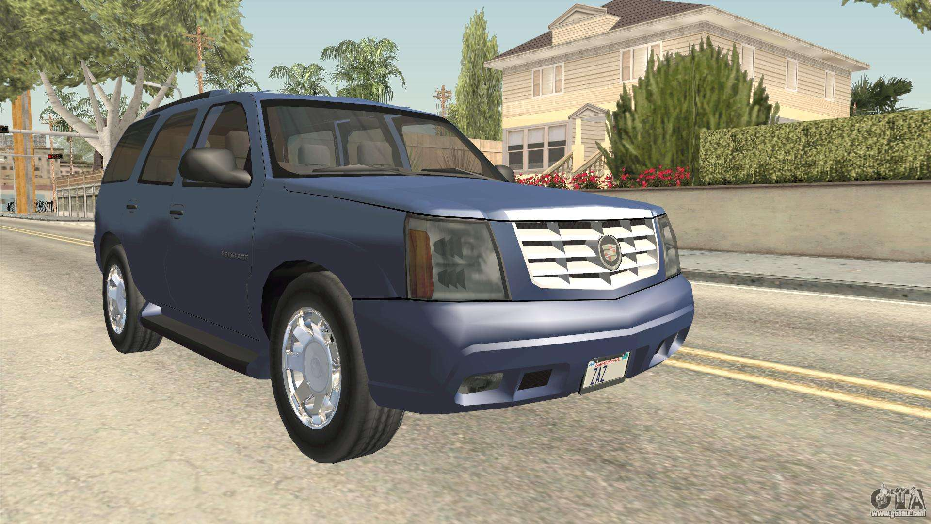 Cadillac escalade 2002 2006 v2 for gta san andreas right view