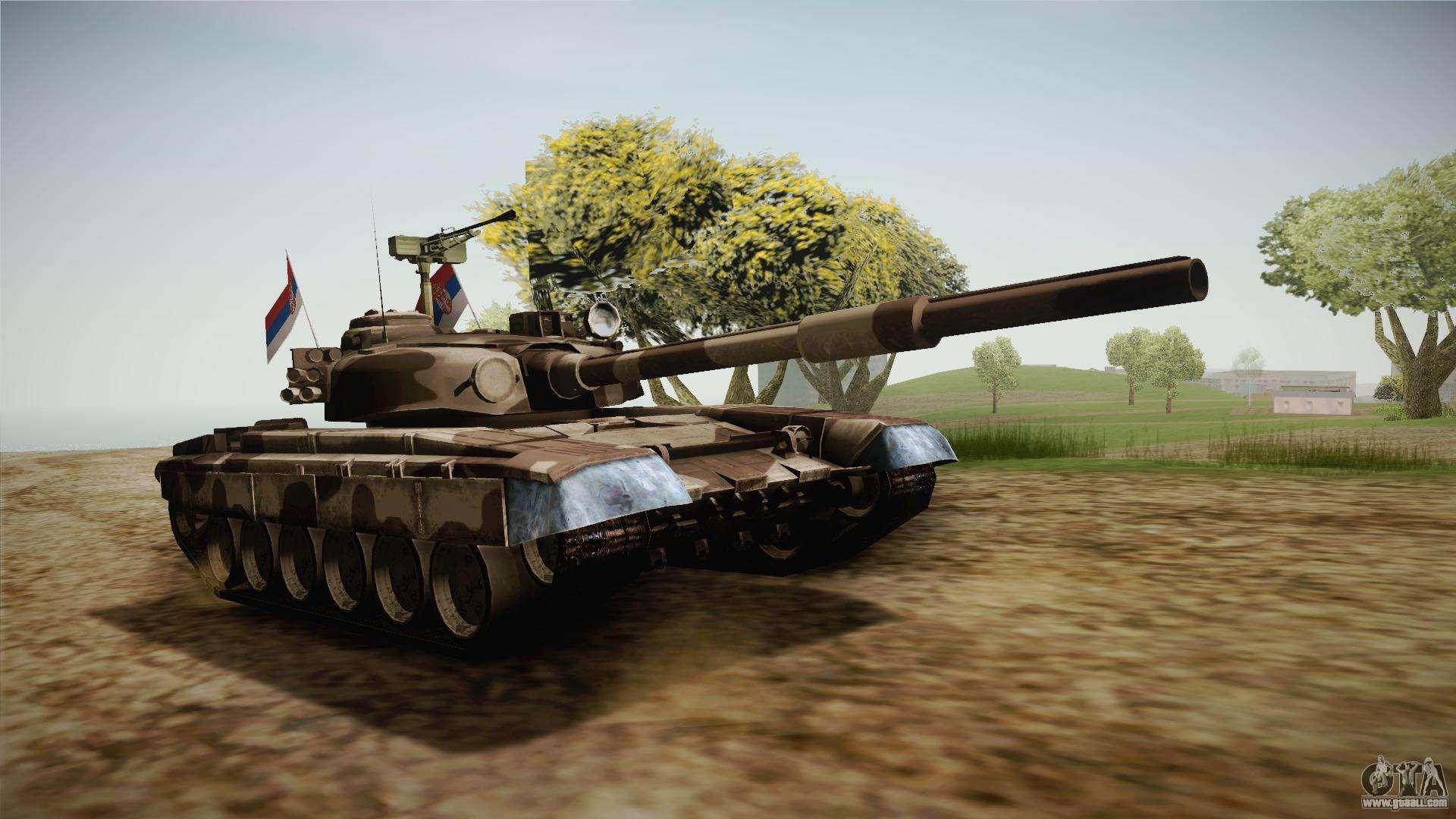 M84 Tank for GTA San Andreas