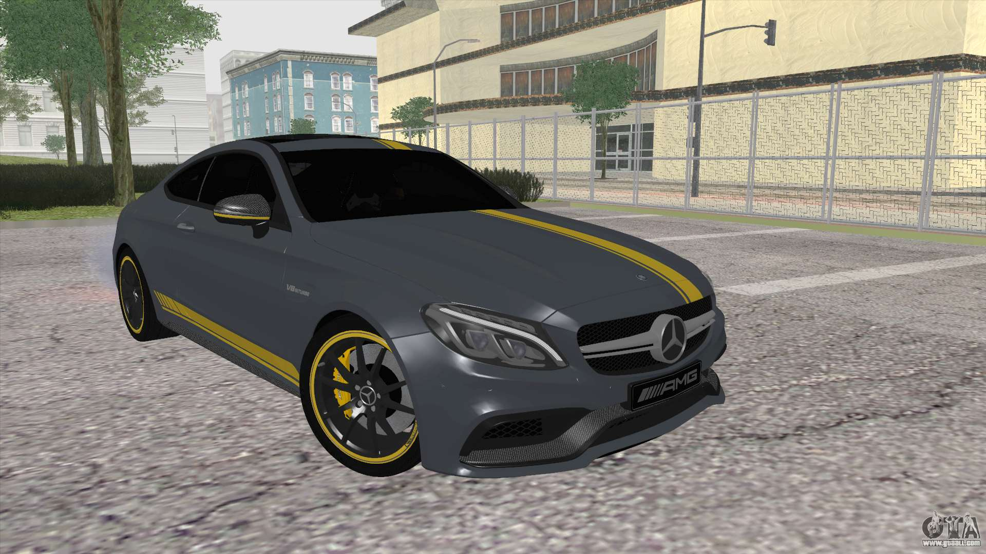 Mercedes benz c63 coupe edition 1 for gta san andreas for Mercedes benz c63