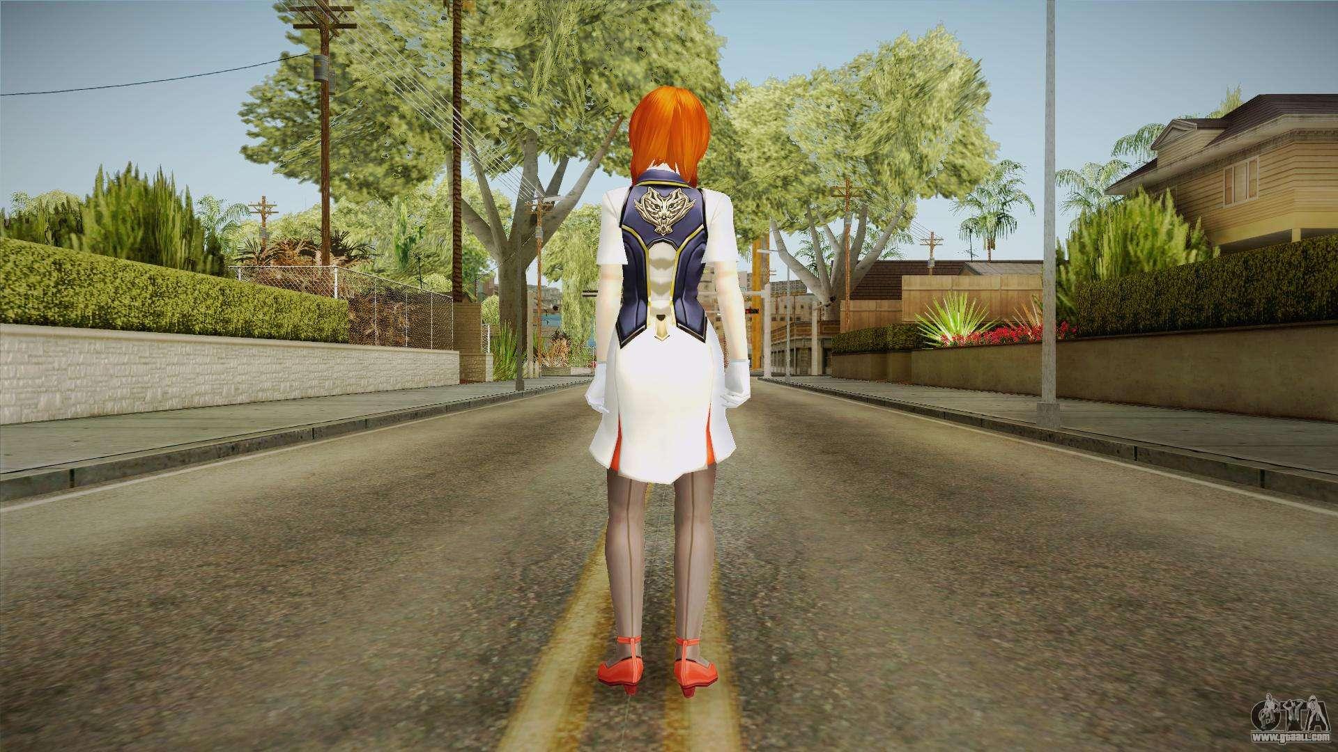 God Eater 2: Rage Burst - Hibari Takeda for GTA San Andreas
