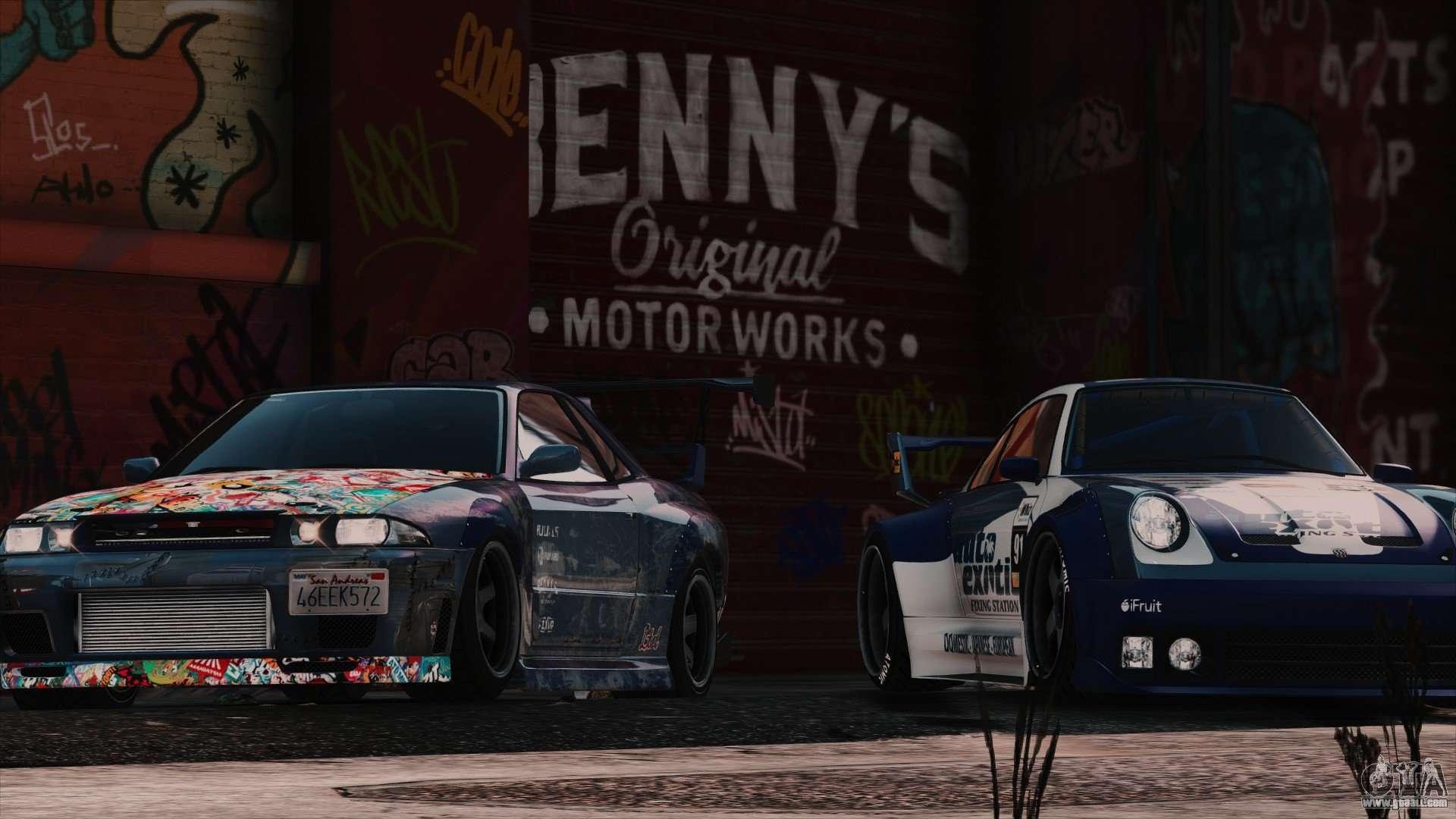 New Bennys Original Motor Works In Sp 1 5 4 For Gta 5
