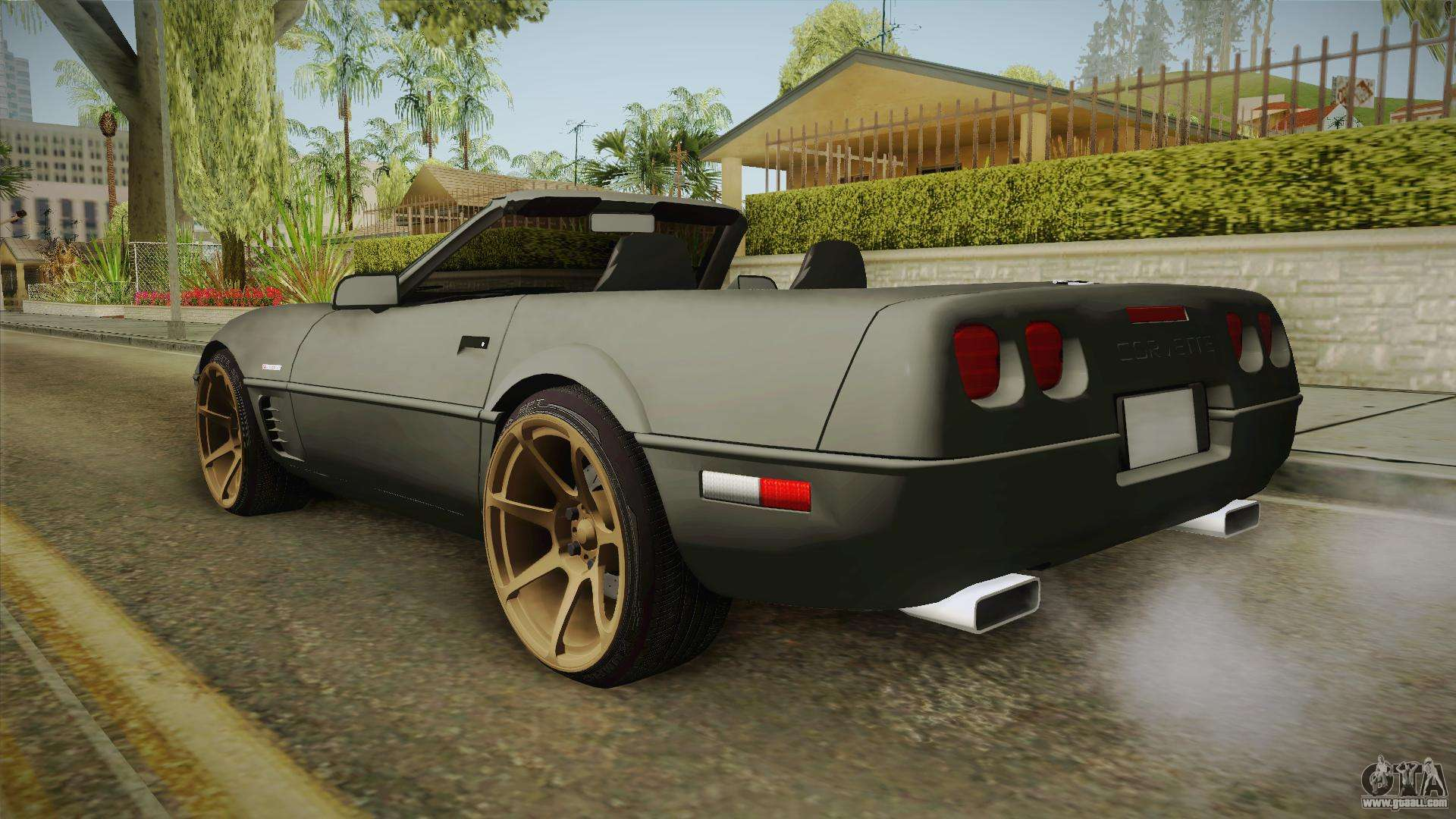 chevrolet corvette c4 cabrio drift 1996 for gta san andreas. Black Bedroom Furniture Sets. Home Design Ideas