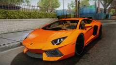 Lamborghini Aventador LP700-4 Stock for GTA San Andreas