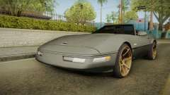 Chevrolet Corvette C4 Cabrio Drift 1996 for GTA San Andreas