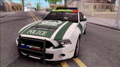 Ford Mustang Shelby GT500 Dubai HS Police for GTA San Andreas