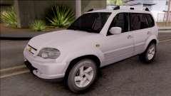 Chevrolet Niva белый for GTA San Andreas