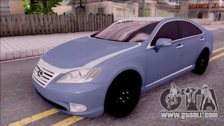 Lexus ES 350 2010 for GTA San Andreas