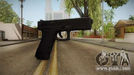 Glock 18 3 Dot Sight Red for GTA San Andreas