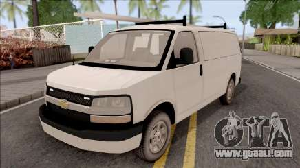 Chevrolet Express Undercover Surveillance Van for GTA San Andreas