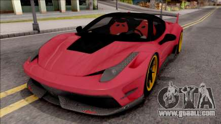 Ferrari 458 Italia Misha Design for GTA San Andreas