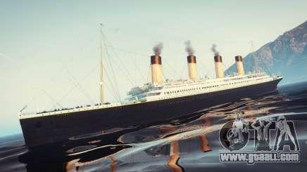 1912 RMS Titanic for GTA 5