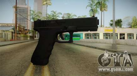 Glock 17 3 Dot Sight Red for GTA San Andreas