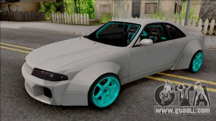 Nissan Skyline R33 Rocket Bunny for GTA San Andreas