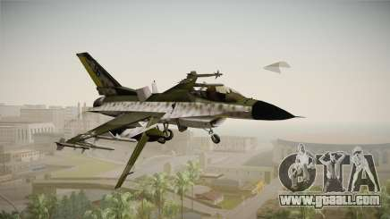 F-16A Luftwaffe WW2 for GTA San Andreas