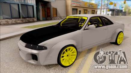 Nissan Skyline R33 Rocket Bunny v4 for GTA San Andreas