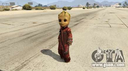 Baby Groot 1.0 for GTA 5