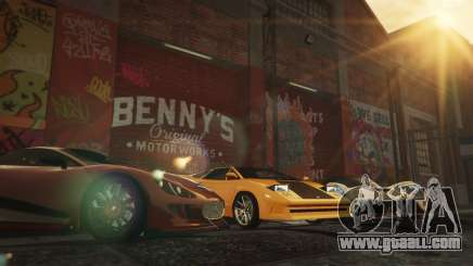 New Bennys Original Motor Works in SP 1.5.4 for GTA 5