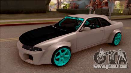 Nissan Skyline R33 Rocket Bunny v2 for GTA San Andreas