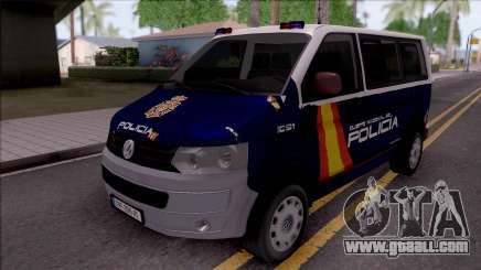 Volkswagen Transporter Spanish Police for GTA San Andreas