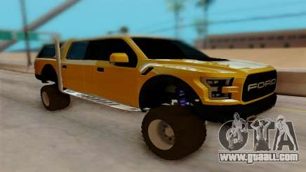 Ford F150 Raptor 4x4 Off-Road for GTA San Andreas