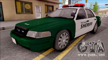 Ford Crown Victoria Flint County Sheriff 2010 for GTA San Andreas