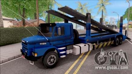 Scania 112H Cegonha for GTA San Andreas