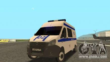 GAZelle NEXT Police for GTA San Andreas
