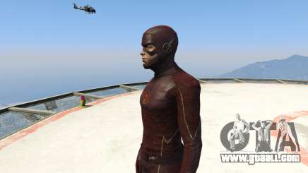 CW The Flash (S1-3) for GTA 5
