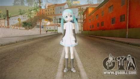 Miku Chibi Skin for GTA San Andreas second screenshot