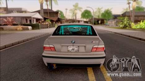 BMW M3 E36 Drift Rocket Bunny for GTA San Andreas back left view