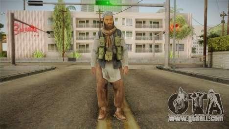 Medal Of Honor 2010 Taliban Skin v5 for GTA San Andreas second screenshot