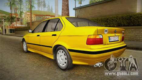 BMW 320i E36 for GTA San Andreas left view