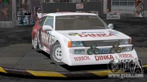 Dinka Blista Compact Rally Edition for GTA San Andreas