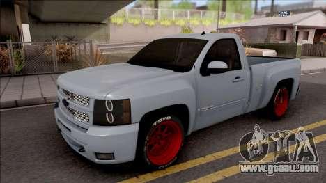 Chevrolet Silverado Single Cab for GTA San Andreas
