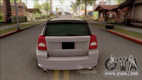 Dodge Caliber for GTA San Andreas back left view