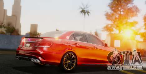 Mercedes-Benz E-class AMG IV for GTA San Andreas back left view