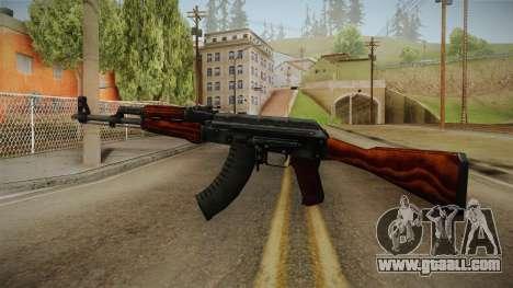 CS: GO AK-47 Orbit Mk01 Skin for GTA San Andreas second screenshot